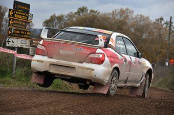 Christian Gabbarrini, Stefano Pudda (Subaru Impreza STI #40, Project Team), CAMPIONATO ITALIANO RALLY TERRA
