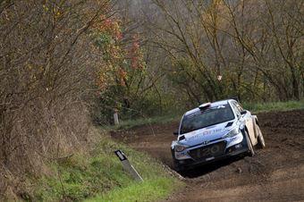 Luca Hoelbling, Federico Fiorini (Hyundai i20 R5 #14, Movisport), CAMPIONATO ITALIANO RALLY TERRA