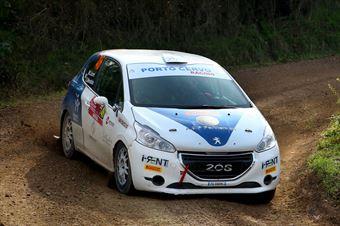 Michele Liceri, Salvatore Mendola (Peugeot 208 R2 #46, Porto Cervo Racing Team), CAMPIONATO ITALIANO RALLY TERRA