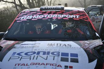 Nicolo Marchioro; Marco Marchetti (Skoda Fabia R5 #8; Etruria), CAMPIONATO ITALIANO RALLY TERRA