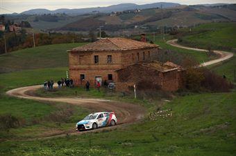 Giuseppe Messori, Antonella Caputo (Mitsubishi Lancer Evo X #35), CAMPIONATO ITALIANO RALLY TERRA