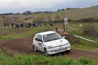 Vincenzo Monni, Maurizio Carta (Peuget 106 #91, Team Autoservice Sport), CAMPIONATO ITALIANO RALLY TERRA