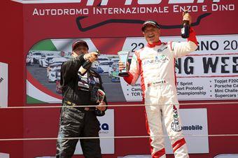 Gara 1 Maurizio Pitorri (Best Lap,Wolf GB08 Thunder #18)Giuseppe Carlo Castellano (Giada Engineering,Wolf GB08 Thunder #66), CAMPIONATO ITALIANO SPORT PROTOTIPI
