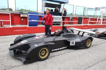 Massimo Ciglia (Wolf GB08 Thunder #18) , CAMPIONATO ITALIANO SPORT PROTOTIPI