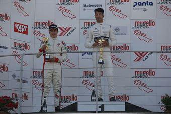 Gara 1, Riccardo Ponzio (SG Motors,Wolf GB08 Thunder #71)Castillo Ruiz Fidel (Ascari Driver Academy,Wolf GB08 Thunder #17), CAMPIONATO ITALIANO SPORT PROTOTIPI