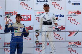 Riccardo Ponzio (SG Motors,Wolf GB08 Thunder #71)Giacomo Pollini (ASD Giacomo Race,Wolf GB08 Thunder #6), CAMPIONATO ITALIANO SPORT PROTOTIPI