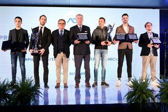 Simone Riccitelli, Lorenzo Pegoraro, Gian Carlo Minardi, Gianni Giudici, Mikhail Spiridonov, Matteo Pollini, Simon Hultén, CAMPIONATO ITALIANO SPORT PROTOTIPI