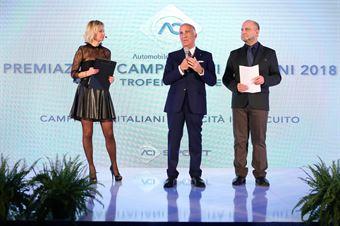 Il Presidente ACI, Angelo Sticchi Damiani., CAMPIONATO ITALIANO SPORT PROTOTIPI