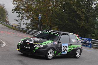 Luca Zollet ( BL Racing, Citroen Saxo VTS #254), CAMPIONATO ITALIANO VELOCITÀ MONTAGNA