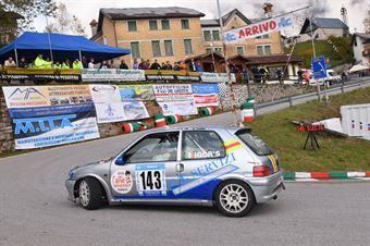 Consalter Igor (Play sport, Peuget 106 #143), CAMPIONATO ITALIANO VELOCITÀ MONTAGNA