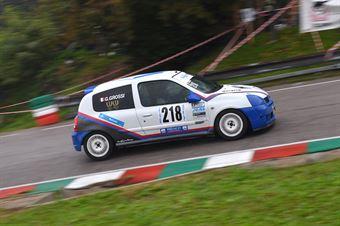 Gianluca Grossi (Novara Corse, Renault Clio Cup #218), CAMPIONATO ITALIANO VELOCITÀ MONTAGNA