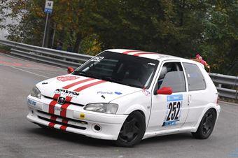 Zanella Mauro (BL Racing, Peugeot 106 #252), CAMPIONATO ITALIANO VELOCITÀ MONTAGNA