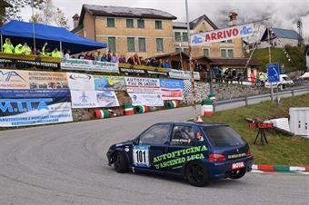 Vincenzo Ottaviani ( Speed Motor, Peugeot 106 #101), CAMPIONATO ITALIANO VELOCITÀ MONTAGNA