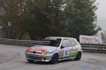 De Paoli Manuel ( Peugeot 106 #141), CAMPIONATO ITALIANO VELOCITÀ MONTAGNA