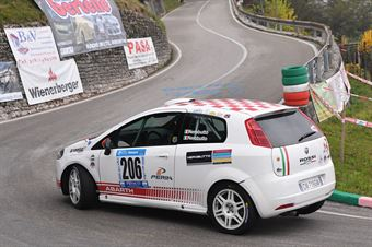 Matteo Nerobutto (Hawk Racing Club, Fiat Punto #206), CAMPIONATO ITALIANO VELOCITÀ MONTAGNA