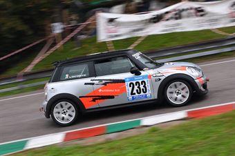 Angelo Loconte (Eptamotorsport, Mini Cooper JWC #233), CAMPIONATO ITALIANO VELOCITÀ MONTAGNA