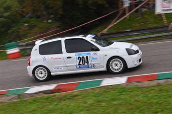 Andrea Steffan (Funny team, Renault clio RS Cup #204), CAMPIONATO ITALIANO VELOCITÀ MONTAGNA