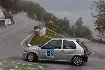 Lorenzo Piazza (Halley Racing Team, Peugeot 106 #136), CAMPIONATO ITALIANO VELOCITÀ MONTAGNA