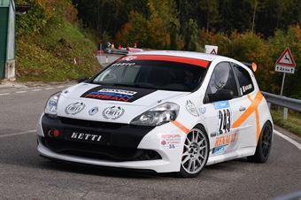 Moscardi Luciano ( Squadra Corse Angelo Caffi, Renault Clio #243), CAMPIONATO ITALIANO VELOCITÀ MONTAGNA