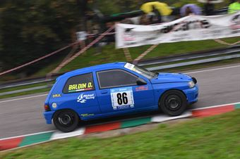Baldin Davide ( Michael Racing, Renault Clio #86), CAMPIONATO ITALIANO VELOCITÀ MONTAGNA
