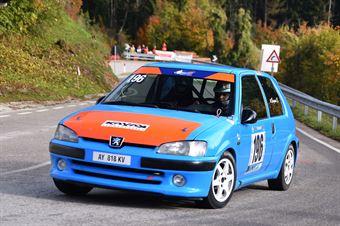 Bergomi Enzo (Peugeot 106 #196), CAMPIONATO ITALIANO VELOCITÀ MONTAGNA