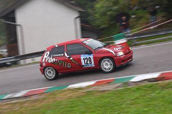 Alessandro Pontin (BL Racing, Renault Clio #129), CAMPIONATO ITALIANO VELOCITÀ MONTAGNA