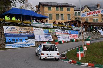Simone Grillo (Vimotorsport, Peugeot 205 #199), CAMPIONATO ITALIANO VELOCITÀ MONTAGNA