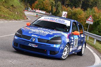 Grasso Giovanni (ACN Forze di Polizia Renault Clio #241), CAMPIONATO ITALIANO VELOCITÀ MONTAGNA