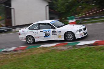 Dennjs Adami (Pintarally Motorsport, BMW M3 #159), CAMPIONATO ITALIANO VELOCITÀ MONTAGNA
