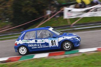 Marco Trolio (Rally Team, Peugeot 106 #91), CAMPIONATO ITALIANO VELOCITÀ MONTAGNA