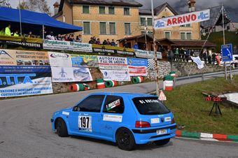 Innocente Federico (BL Racing, Peugeot 106 #197), CAMPIONATO ITALIANO VELOCITÀ MONTAGNA
