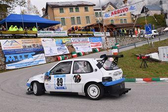 Tiziano Turrin (Halley Racing Team, Citroen Saxo #89), CAMPIONATO ITALIANO VELOCITÀ MONTAGNA
