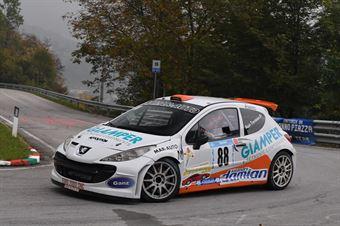 Trevisson Coppe Alain ( Peugeot 207 #88), CAMPIONATO ITALIANO VELOCITÀ MONTAGNA