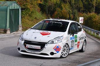 Alberto Sartori ( X Race Sport, Peugeot 208 #121) , CAMPIONATO ITALIANO VELOCITÀ MONTAGNA