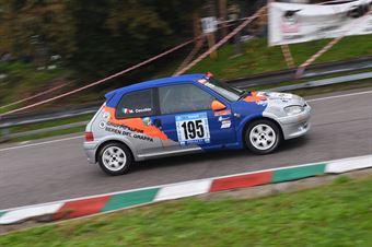 Cecchin Maicol ( BL Racing, Peugeot 106 #195), CAMPIONATO ITALIANO VELOCITÀ MONTAGNA
