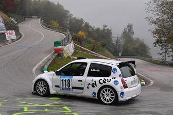 Luca Ceolin (La Superba, Renault Clio #118), CAMPIONATO ITALIANO VELOCITÀ MONTAGNA
