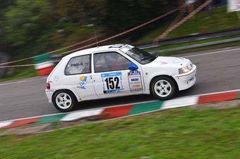 Paolo Genoria (BL racing, Peugeot 106 #«52), CAMPIONATO ITALIANO VELOCITÀ MONTAGNA