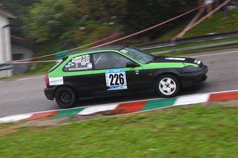 Bommartini Vittorio (BL Racing, Honda Civic #226), CAMPIONATO ITALIANO VELOCITÀ MONTAGNA