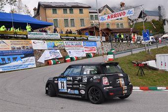 Broccolini Deborah (Global Sport Incentive, Mini Cooper JCW #73), CAMPIONATO ITALIANO VELOCITÀ MONTAGNA