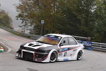 Mauro Soretti (Leonessa Corse, Subaru Impreza #41), CAMPIONATO ITALIANO VELOCITÀ MONTAGNA