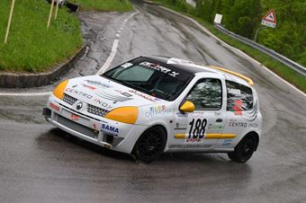 Kraner Stefan (Destra 4, Renault Clio RS Cup #188), CAMPIONATO ITALIANO VELOCITÀ MONTAGNA