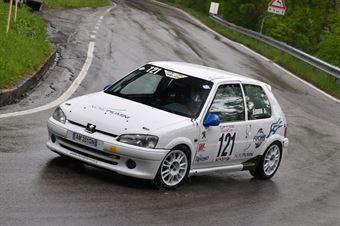 Zadra Roberto (Hornet corse, Peugeot 106 #121), CAMPIONATO ITALIANO VELOCITÀ MONTAGNA