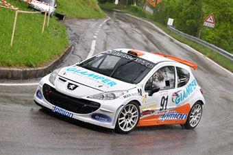 Trevisson Coppe Alain (Peugeot 207 #91), CAMPIONATO ITALIANO VELOCITÀ MONTAGNA