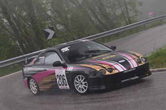 Zanette Fabio (VimotorSport Honda Integra Type R #206), CAMPIONATO ITALIANO VELOCITÀ MONTAGNA