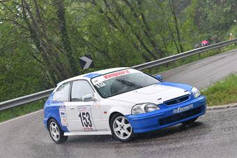Consolati Valerio (BL Racing, Honda Civic #153), CAMPIONATO ITALIANO VELOCITÀ MONTAGNA