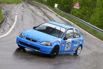 Bicciato Lukas ( Mendola, Honda Civic V Tec #151), CAMPIONATO ITALIANO VELOCITÀ MONTAGNA