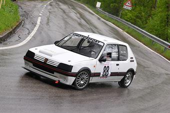 Bet Alex (VimotorSport, Peugeot 205 GTI #88), CAMPIONATO ITALIANO VELOCITÀ MONTAGNA