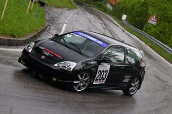 Cicalese Francesco Paolo (Tirreno Motorsport, Honda Civic #203), CAMPIONATO ITALIANO VELOCITÀ MONTAGNA