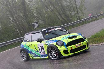 Liuzzi Giacomo (Fasano Corse, BMW Mini Cooper JCW #179), CAMPIONATO ITALIANO VELOCITÀ MONTAGNA