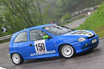 Kritzinger Herbert (Racing Team Meran, Opel Corsa GSI #150), CAMPIONATO ITALIANO VELOCITÀ MONTAGNA